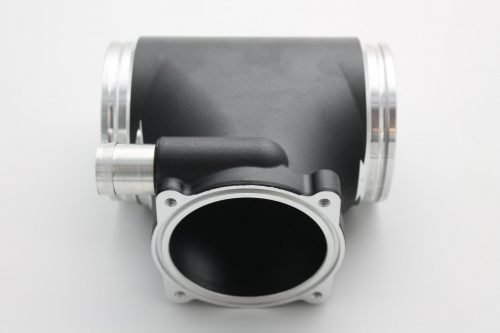 Porsche 997 Gen1 Black GT3 Competition Aluminium Intake Plenum Upgrade For 82mm Throttle Body